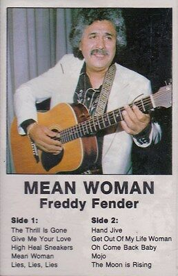 Freddy Fender Mean Woman Cassette New Nuevo