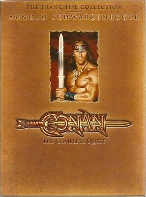 Conan: The Complete Quest DVD 1-Disc 2 Movies/The Barbarian/The Destroyer