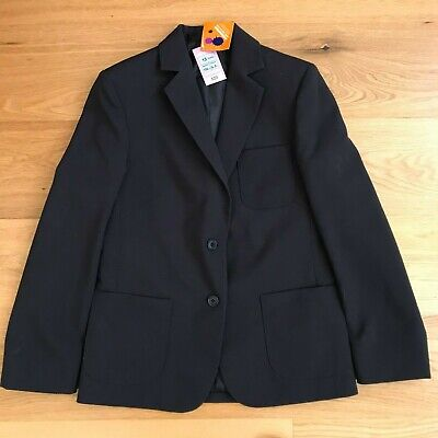 BNWT Girls Size 13yrs NAVY SCHOOL UNIFORM BLAZER jacket from MARKS & SPENCER UK