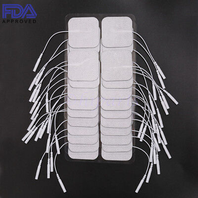 20 Replacement Tens Electrode Pads EMS for Units 7000 3000 2x2 Muscle Stimulator