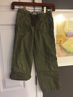 Mini Boden Girls Spring Cropped Lightweight Pants Size 9 CUTE!!