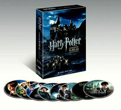 "'BRAND NEW"" Harry Potter: Complete 8-Film Collection (DVD, 2011, 8-Disc Set)"