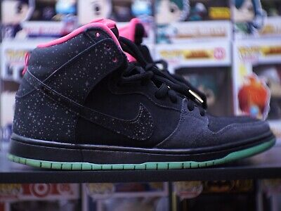 newest collection b1e33 cb7f6 Nike Dunk High Premium SB Northern Lights Size 10 Preowned Worn