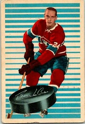 1963-64 Parkhurst Jacques Laperriere Rookie Card #86 Vintage Hockey Card