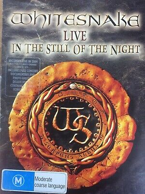WHITESNAKE - Live In The Still Of The Night Deluxe DVD + CD Exc Cond!