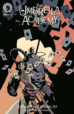 Umbrella Academy Hotel Oblivion 1 Nycc Eccc Exclusive Variant Nm