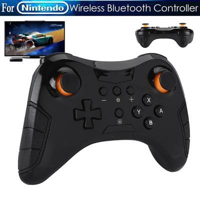 2x Wireless Bluetooth Remote Controller Gamepad for Nintendo Switch Pro Black