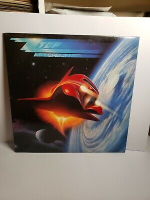 ZZ Top Afterburner LP Vinyl Album Warner Bros Records 1985