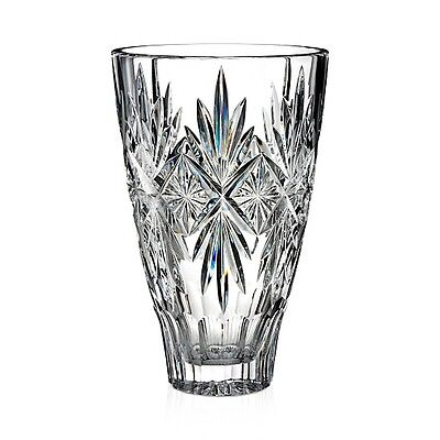 """Waterford Crystal Normandy Vase 10"""" NEW IN THE WATERFORD CRYSTAL GIFT BOX"""