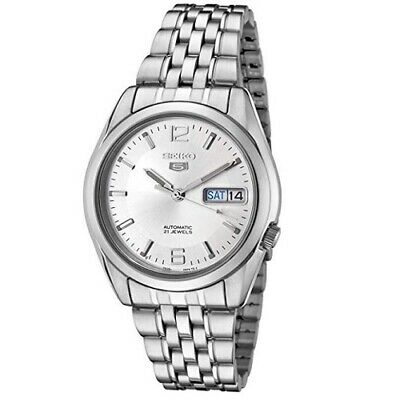 Seiko 5 SNK385K1 Automatic Silver Dial Stainless Steel Men's Watch