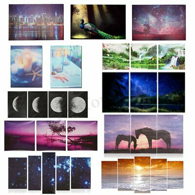 Modern Art Abstract Canvas Print Painting Picture Wall Mural Hanging Home