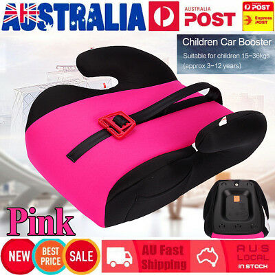 Car Booster Seat Chair Cushion Safety Pad For Toddler Children Kids 15-36kg