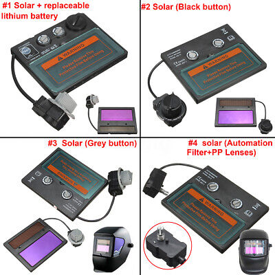 6 Types Auto Solar Darkening Welding Helmet Lens Goggles Mask Automation Filter