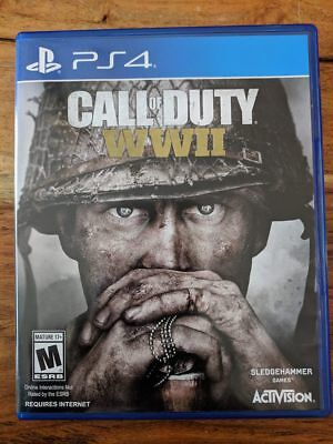 Call of Duty: WWII (Sony PlayStation 4, 2017), MINT CONDITION
