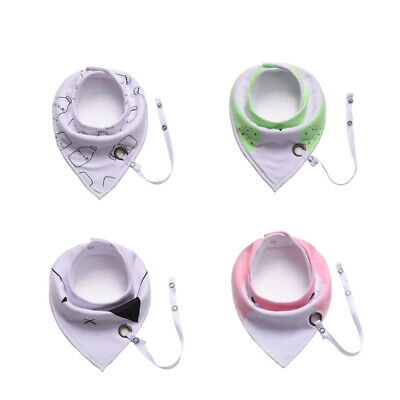 Kids Baby Double Cotton Bib Boy Girl Saliva Towel Dribble Triangle Bandana Apron
