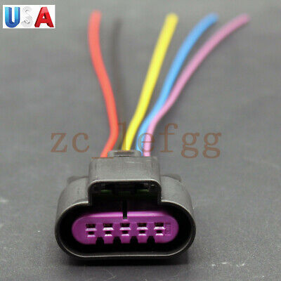 5 Wire MAF Sensor Male Pigtail Connector Harness for GM LS3 LS7 L99 LS9 6.2 7.0