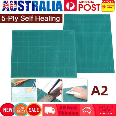 Quality A2 Self Healing Large Thick Cutting Mat Craft Quilting Scrapbooking AU