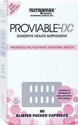 Proviable DC for Cats and Dogs, 80 Capsules