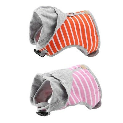 Leash Escape Proof Adjustable Soft Cat Kitten Harness Hooded Vest Collar