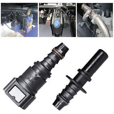 """9.89 5/16"""" 8mm Fuel Line Quick Connect Release Disconnect Gas Petrol Connector"""