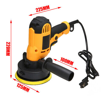 700W 220V Electric Car Polisher Waxing Machine Polishing Buffing Waxer Tool UK*