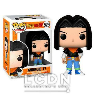 Dragon Ball Z POP! Animation Android 17 Vinyl Figure 10cm n°529 FUNKO