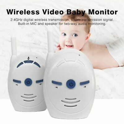 V20 Wireless 2.4GHz Baby Monitor Sitter Audio Digital Voice Broadcast 2-way Talk