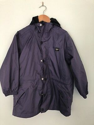 KATHMANDU unisex kids size small rain coat wind cheater size 6-8 years Purple