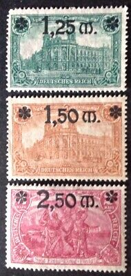 Germany 1920 3 X Stamps Mint Hinged