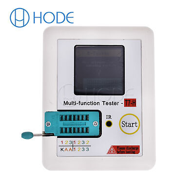 LCR-TC1/T7 LCD Display function Didoe Triode TFT Backlight Transistor Tester UK