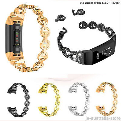 Fashion For Fitbit Charge 2 3 Watch Bands Strap Alloy Metal Bracelet Wrist Band