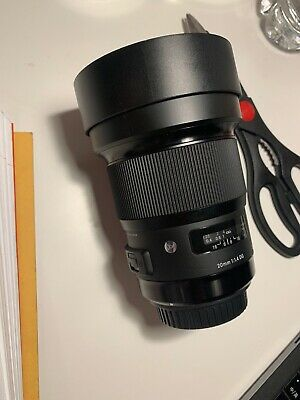 Sigma 20mm f/1.4 ART Lens Canon mount *Mint Condition