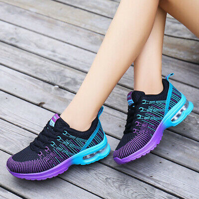 Women Ladies Casual Athletic Walking Running Hiking Sport Shoes Sneakers Lace Up