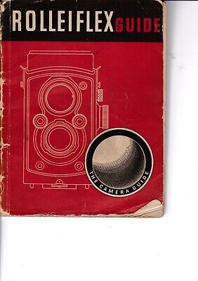 Genuine Vintage 1957 13Th Edition Focal Press Instruction Guide Book Rolleiflex