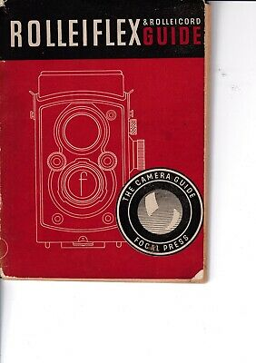 Genuine Vintage 1948 14Th Edition Focal Press Instruction Guide Book Rolleiflex