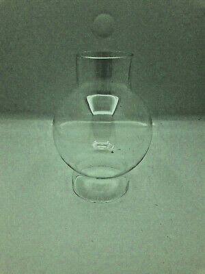 Ancien verre de lampe type pigeon Old french lamp glass
