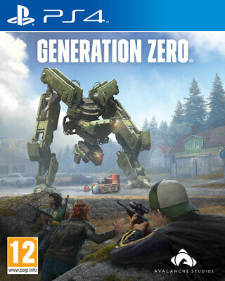 Generation Zero (PS4)  *** PRE-ORDER - RELEASED 26/03/2019 *** NEW AND SEALED