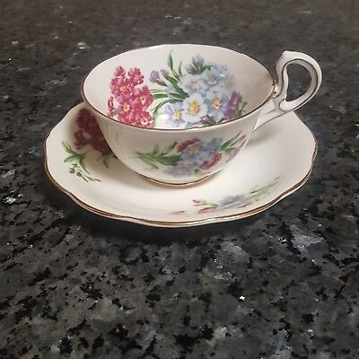Royal Standard Princess Louise Gold  Fine Bone China Tea Cup and Saucer England