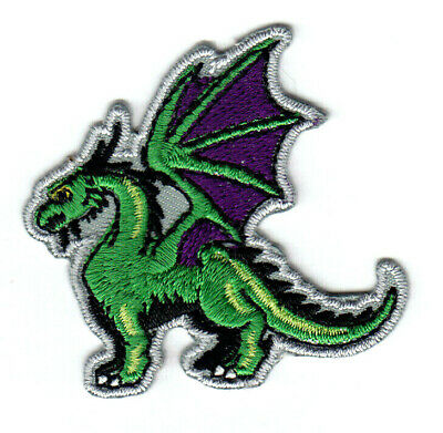 fb0c1c12f RED DRAGON IRON On Patch Fantasy Legendary Animal Mythical - $3.79 ...