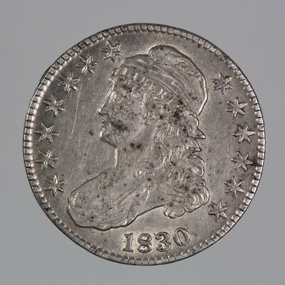 1830 50c CAPPED BUST HALF DOLLAR LOT#E963