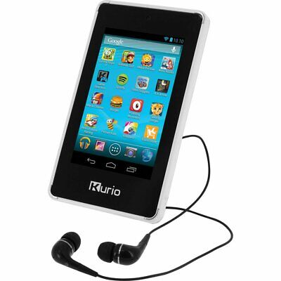 """Kurio Pocket Kids 4"""" Android Tablet 50 Apps Preloaded Red 8GB + 32GB SD Option"""