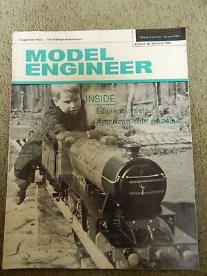 MODEL ENGINEER MAGAZINE No 3280 VOLUME 131 , YEAR 1965