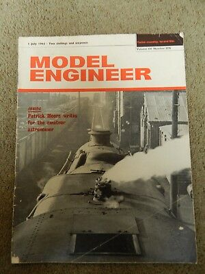 MODEL ENGINEER MAGAZINE No 3276 VOLUME 131 , YEAR 1965