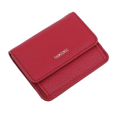 Simple Small Purse Mini Lovely Bifold Wallet Women Coin Bag Leather Ladies Jian