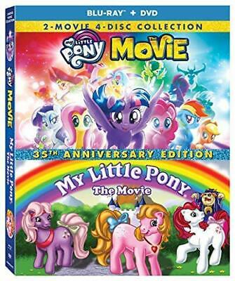 NEW!!! My Little Pony 35th Anniversary Collection (Blu-ray/DVD Set, 2018)