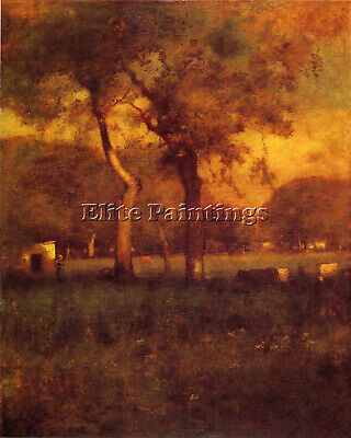 George Inness California Artist Painting Reproduction Handmade Canvas Repro Wall