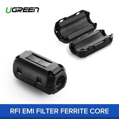 Ugreen 1 Pieces 5 Pieces Ferrite Core Cable Filter Nickel-Zink Noise Suppressor