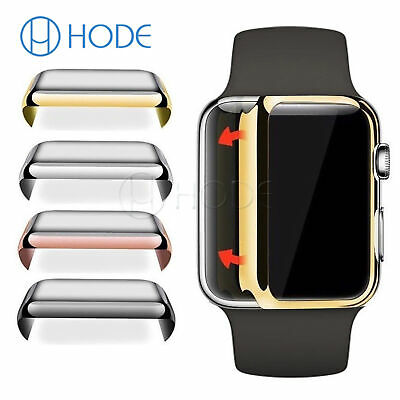 42/40/44mm Screen Protector Case Snap On Cover for Apple Watch Series 4/3 UK