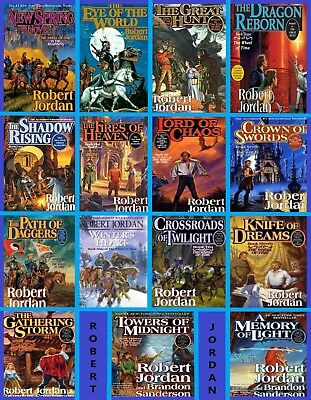 Wheel of Time Series AudioBooks Complete Collection by Robert Jordan