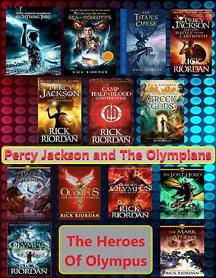 Percy Jackson AudioBook Series Collection by Rick Riordan